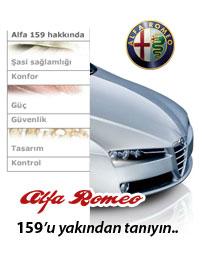 Alfa Romeo 159 hakkiında detayli bilgiler